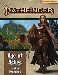 Picture of Pathfinder RPG Adventure Path Age of Ashes Part 6 Broken Promises