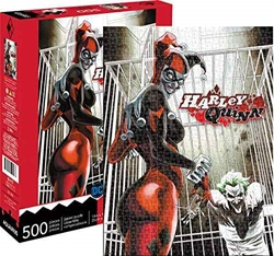 Picture of Harley Quinn 500 Piece Jigsaw Puzzle