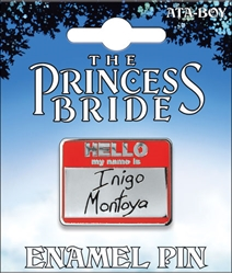 Picture of Princess Bride My Name Is Enamel Pin