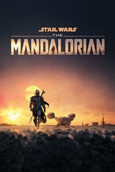 "Picture of Star Wars Mandalorian Dusk 24"" x 36"" Poster"
