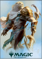 Picture of Magic the Gathering Ajani Magnet