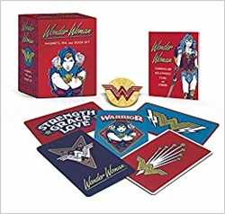 Picture of Wonder Woman Magnet Pin and Book Mini-Kit