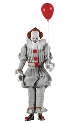"""Picture of IT 2017 Clothed 8"""" Pennywise Figure"""