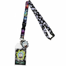 Picture of Rick and Morty Lanyard