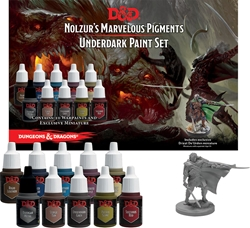Picture of Dungeons and Dragons Nolzur's Marvelous Pigments Underdark Paint Expansion Set
