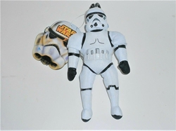 Picture of Star Wars Stormtrooper Plush Coin Bag with Zipper Pouch