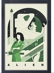 Picture of Alien Ripley Alien Framed Print