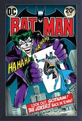 Picture of Joker Back in Town Framed Print