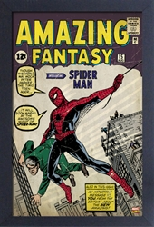 Picture of Spider-Man Amazing Fantasy Framed Print