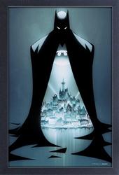 Picture of Batman Doorway Framed Print