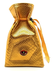 Picture of Dragon Eye Gold Dice Bag