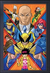 Picture of X-Men Group Shot Framed Print