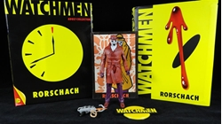 Picture of Watchmen Club Rorschach Action Figure