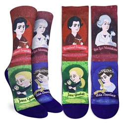 Picture of Women's Famous Women in Science Socks Size 5-9