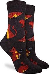 Picture of Women's Devil Kitties Socks Size 5-9