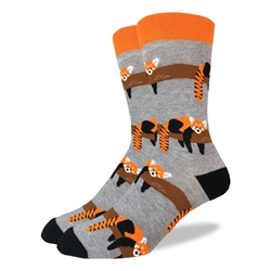 Picture of Men's Red Panda Socks Size 7-12