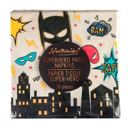 Picture of Superhero Square Napkins