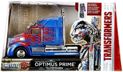 Picture of Metals Die Cast Transformers Optimus Prime Western Star 5700 XE Phantom