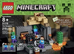 Picture of LEGO Minecraft The Dungeon 21119