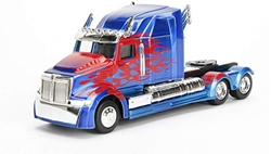 Picture of Metals Die Cast Transformers Optimus Prime Hollywood Rides