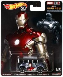 Picture of Hot Wheels Concept Art Series Diecast Marvel Studios Iron Man Volkswagen Deluxe Station Wagon