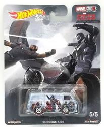 Picture of Hot Wheels Concept Art Series Diecast Marvel Studios Captain America Civil War '66 Dodge A100
