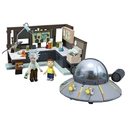 Picture of Rick and Morty Spaceship and Garage McFarlane Construction Set