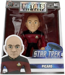 """Picture of Die Cast Cpt Picard 4"""" Figure"""