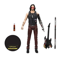 Picture of Cyberpunk 2077 Johnny Silverhand 7-Inch Figure