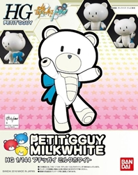 Picture of Gundam Build Fighters Petit'Gguy Milk White HGPG 1/144 Scale Model Kit