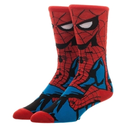 Picture of Spider-Man Character 360 Crew Sock