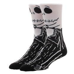 Picture of Nightmare Before Christmas Jack Skellington Character 360 Crew Sock