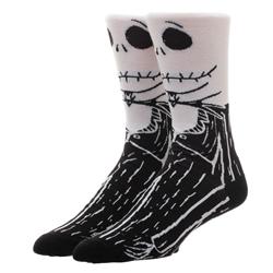 Picture of Nightmare Before Christmas Jack Skellington Character 360 Crew Sock