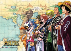 Picture of One Piece Crew Wall Scroll