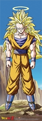Picture of Dragon Ball Z Super Saiyan 3 Goku Wall Scroll