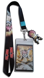 Picture of Fairy Tail Fiery Dragon Natsu Lanyard