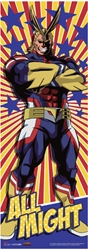 Picture of My Hero Academia All Might Wall Scroll