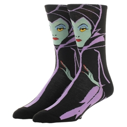 Picture of Disney Maleficent 360 Crew Sock