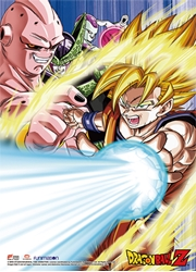 Picture of Dragon Ball Z Goku & Villains Wall Scroll