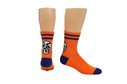 Picture of Dragon Ball Super Goku Symbol Athletic Anklet Socks $9.99