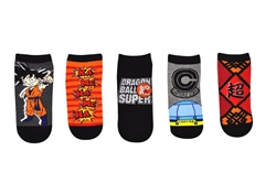 Picture of Dragon Ball Super 5 Pair Pack Of Lowcut Socks
