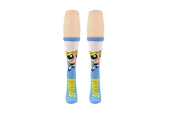 Picture of Powerpuff Girls Flying Bubbles Crew Socks