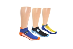 Picture of Dragon Ball Super Men's Athletic 3 Pair Pack Lowcut Socks