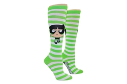 Picture of Powerpuff Girls Buttercup Rugby Knee High Socks