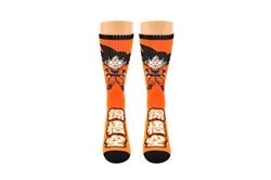 Picture of Dragon Ball Z Goku Chibi Athletic Crew Socks