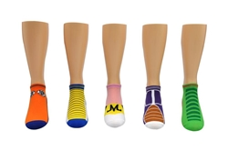 Picture of Dragon Ball Super Cosplay 5 Pair Pack Lowcut Socks