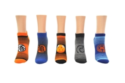 Picture of Dragon Ball Super Stripe 5 Pair Pack Lowcut Socks