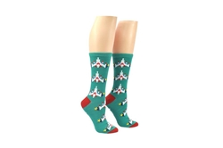 Picture of Galaga Fighter Crew Sock