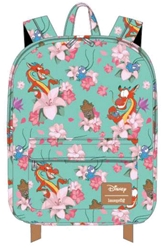 Picture of Mulan Mushu and Crickie All Over Print Backpack
