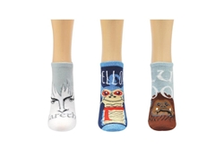 Picture of Labyrinth Jareth 3 Pair Pack Lowcut Socks